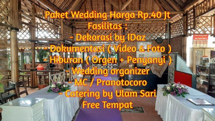 Harga paket wedding kudus