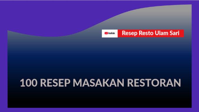 100 Resep Masakan Restoran